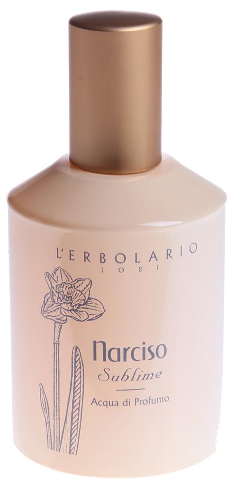 LERBOLARIO Вода парфюмированная Прекрасный нарцисс 50 млПарфюмерия<br>Сладкий и сильный аромат благородного нарцисса будет сопровождать Ва повсюду, благодаря этой страстной и очень женственной парфюмированной воде. Женственный и романтичный аромат, который вызывает в памяти нежное очарование нарцисса. Яркое искристое звучание этому аромату придают ноты персика, мандарина, лимона, грейпфрута и апельсина. Чувственная сердцевина запаха рождается благодаря ароматам магнолии, розы, кувшинки и фрезии, которые дополняют чистейший аромат нарцисса. В сладком обволакивающем остаточном аромате слышен мед и амбра&amp;hellip;<br>