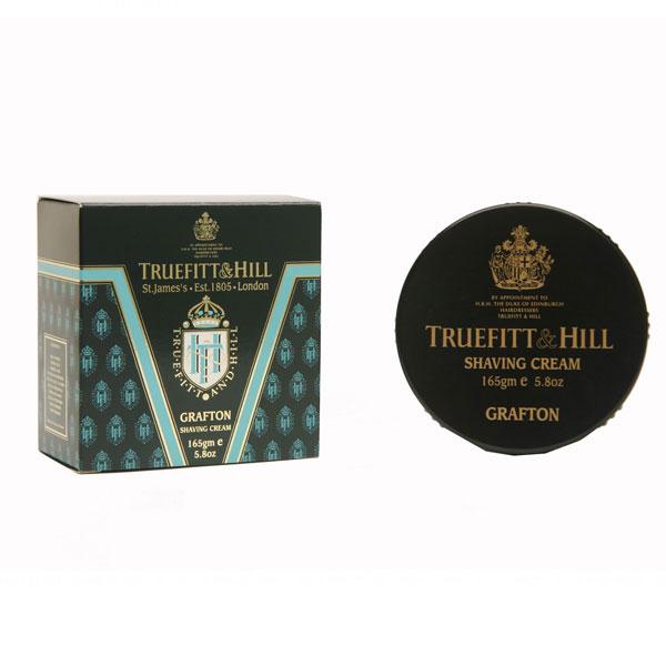 TRUEFITT HILL Крем для бритья (в банке) Grafton 190гр