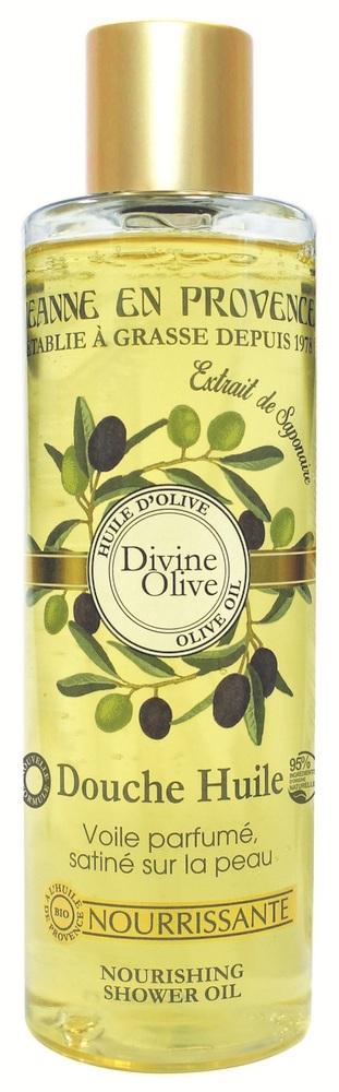 Купить JEANNE EN PROVENCE Масло питательное для душа Божественная олива 250 мл