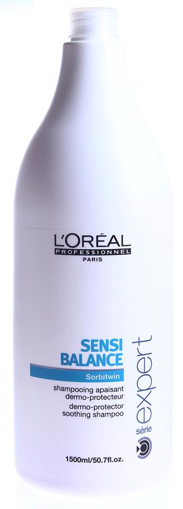 LOREAL PROFESSIONNEL Шампунь для защиты кожи головы / СЕНСИ БАЛАНС 1500мл