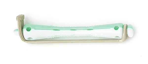 SIBEL Коклюшки 60х6,0мм бел-зел.12шт/уп SIBELКоклюшки<br>Бигуди-коклюшки Sibel короткие, 60 мм. (12 шт/уп) 6 мм<br>