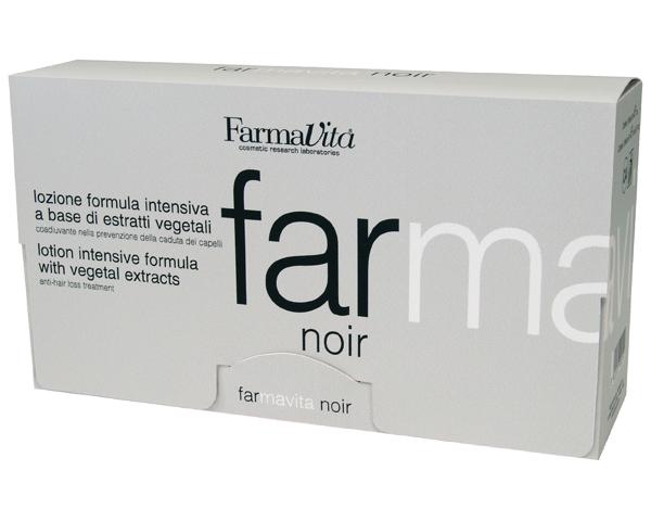 FARMAVITA Лосьон спец. против выпадения волос д/мужчин Farmavita Noir Lotion / FARMAVITA NOIR LINE 12х8 млВолосы<br>Интенсивная формула на базе растительных экстрактов. Предупреждает выпадение волос вызванное гормональным сбоем, стрессом, воздействием окружающей среды, дисбалансом, воспалением кожи головы и сменой сезонов года. Подходит дли всех типов кожи. Активные ингредиенты: содержит 20 растительных экстрактов Средиземноморья. Розмарин, горная арника, шалфей и зверобой, входящие в состав FARMAVITA NOIR улучшают состояние кожи, которое было нарушено усиленной работой сальных желез и образованием перхоти, делают волосы здоровыми и блестящими. Экстракт перечной мяты дает приятное и продолжительное ощущение свежести. Способ применения: вымыть волосы Специальным шампунем для мужчин. Вскрыть ампулу при помощи аппликатора и нанести содержимое ампулы по проборам на корни волос. Слегка втереть. Не смывать!<br><br>Объем: 12х8мл<br>Назначение: Выпадение