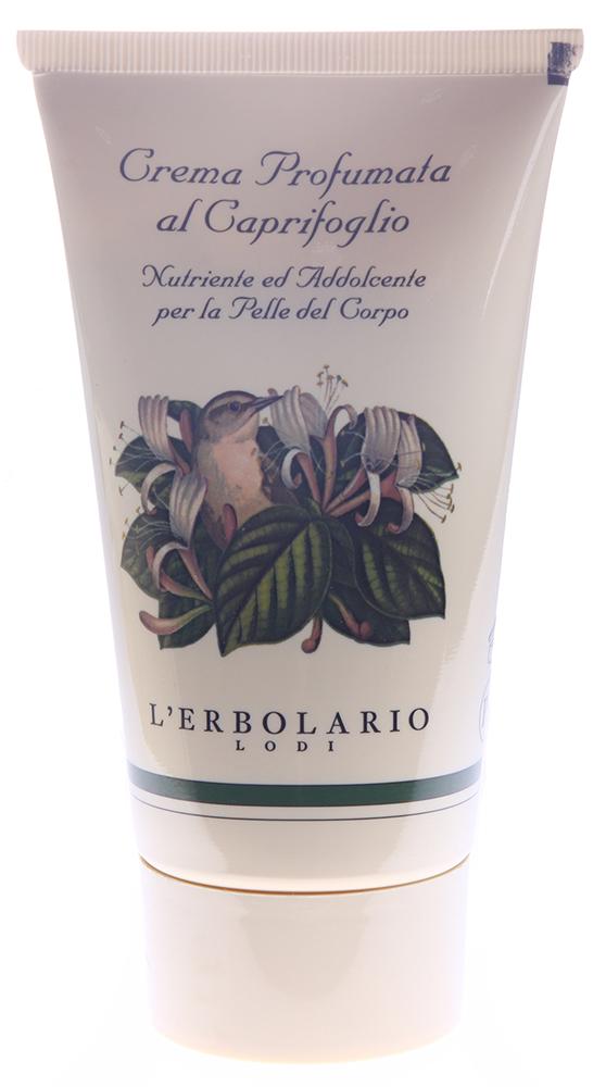 LERBOLARIO Крем для тела ароматизированный Жимолость 150 млКремы<br>Крем питает, смягчает кожу, придает ей эластичность. Хорошо впитывается. Обладает приятным нежным ароматом. Активные ингредиенты: масло хохобы, экстракт мальвы. Способ применения: после ванны или душа нанесите крем на кожу тела и распределите широкими массирующими движениями.<br>