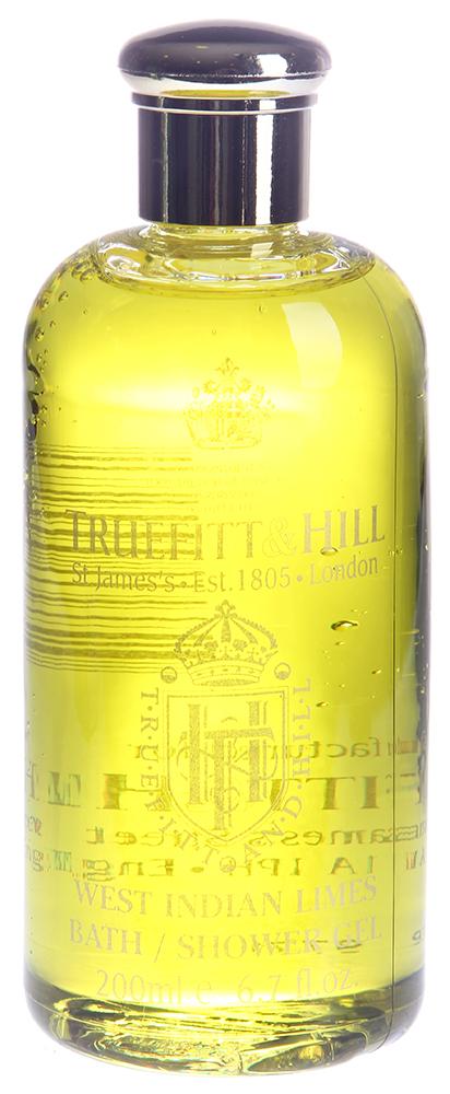 TRUEFITT HILL Гель для душа West Indian Limes 200млТело<br>Высококонцентрированный, ароматизированный гель для душа для мужчин. Густая пена глубоко очищает кожу. С освежающим ароматом. Дарит коже ощущение комфорта. Освежает и наполняет кожу жизненной энергией. Способ применения: Нанести на влажную кожу, вспенить, смыть теплой водой.<br><br>Объем: 200<br>Пол: Мужской