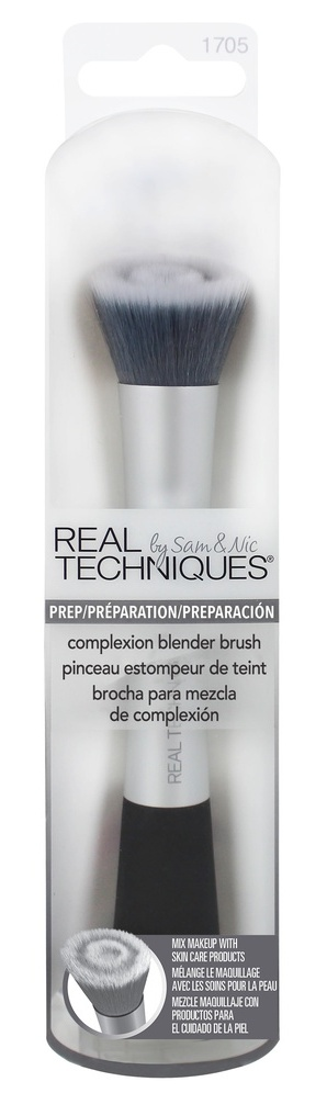 REAL TECHNIQUES Кисть для тона / Complexion Blender Brush - Кисти