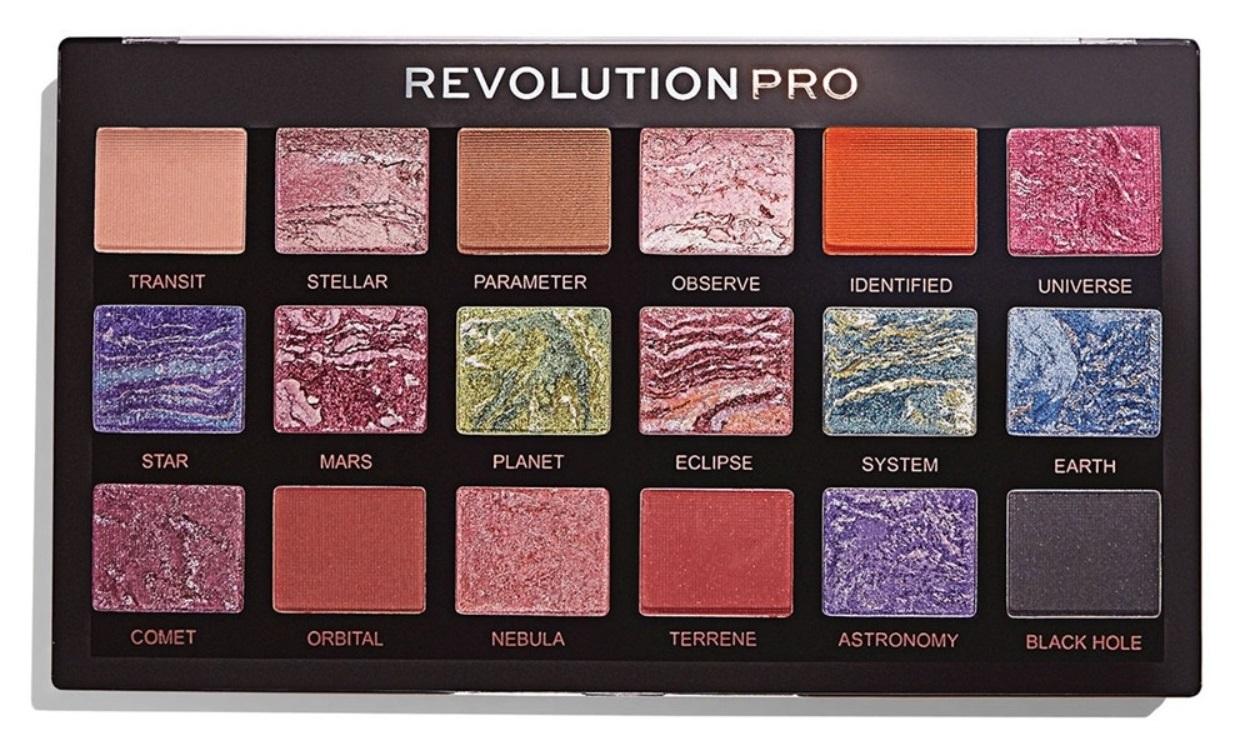 Купить REVOLUTION PRO Палетка теней для век, тон Trends Celestial / Regeneration Palette 14, 4 г