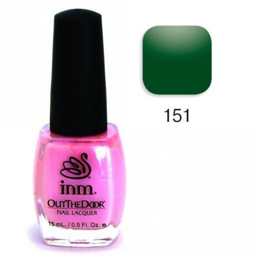 "INM 151 лак для ногтей ""Emerald"" / OTD Nail Laquer 15мл"
