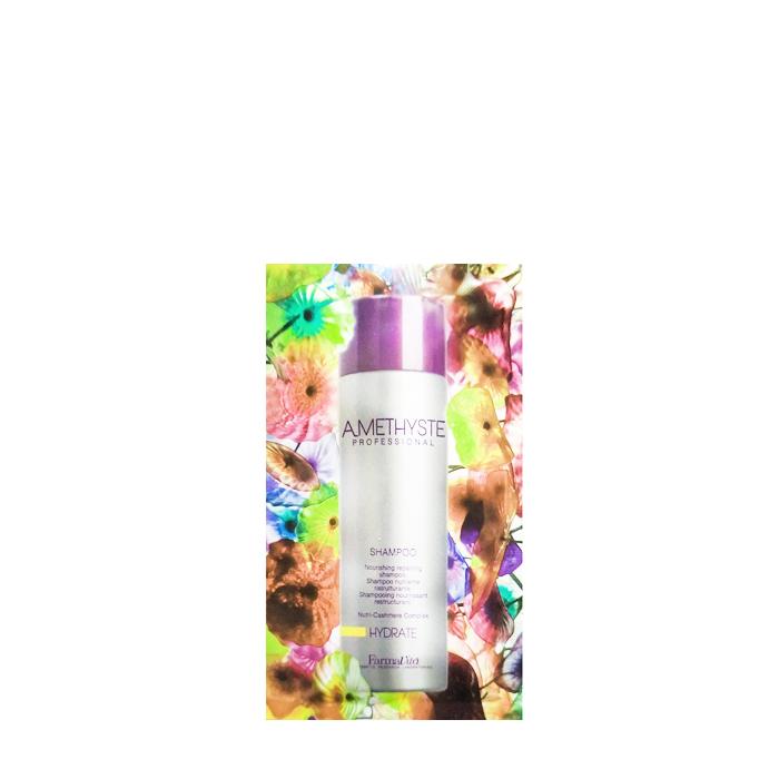FARMAVITA Шампунь увлажняющий для сухих и ослабленных волос / Amethyste hydrate shampoo 10 мл