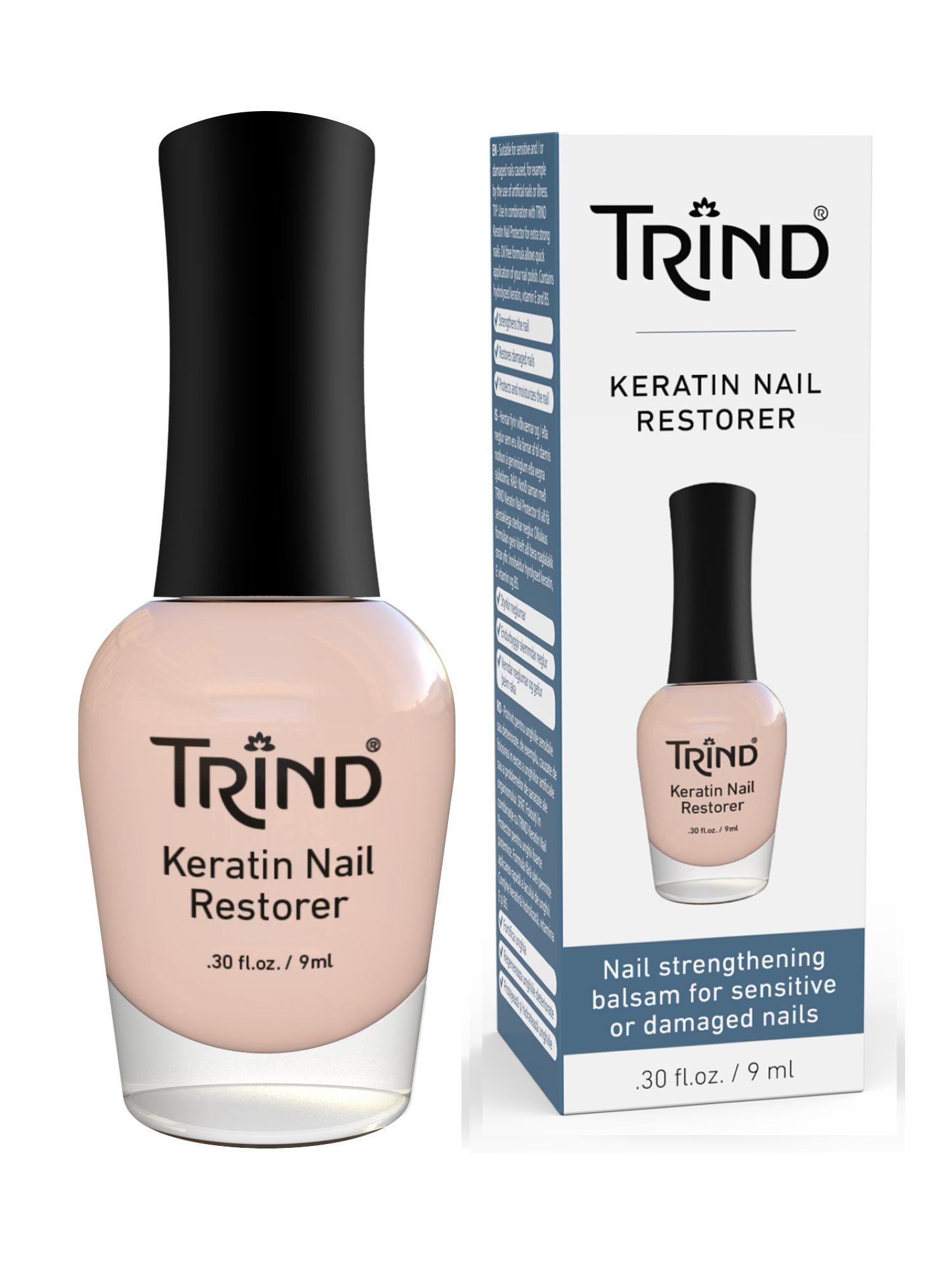 TRIND Восстановитель ногтей кератиновый / Keratin Nail Restorer 9 мл