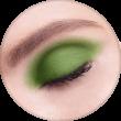 AVANT scene Тени микропигментированные, палитра зелено-красная, оттенок B003