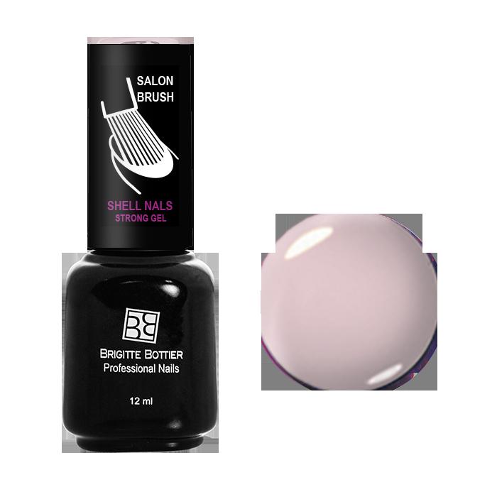 BRIGITTE BOTTIER 957 гель-лак для ногтей & Серо-розовый&  / Shell Nails 12мл -  Гель-лаки