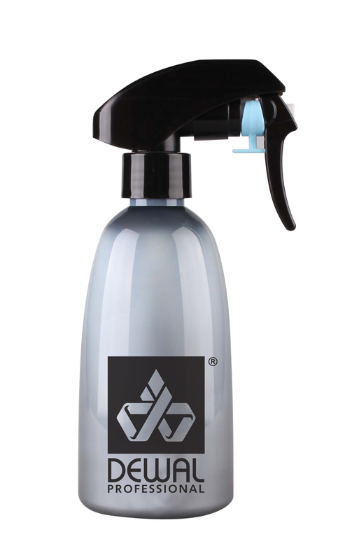 DEWAL PROFESSIONAL Распылитель пластиковый, с металлическим шариком, серый 250 мл от Галерея Косметики