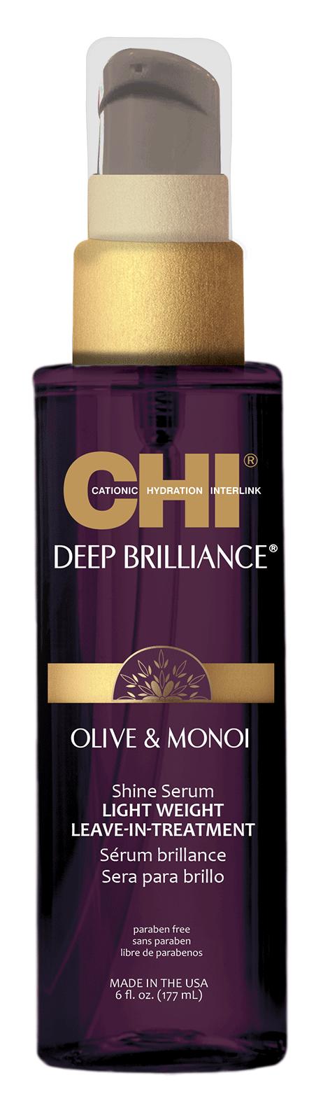 CHI Сыворотка-сияние легкая несмываемая / DEEP BRILLIANCE 177 мл
