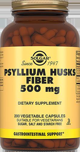 SOLGAR Псиллиум пищевые волокна, капсулы 500 мг № 200