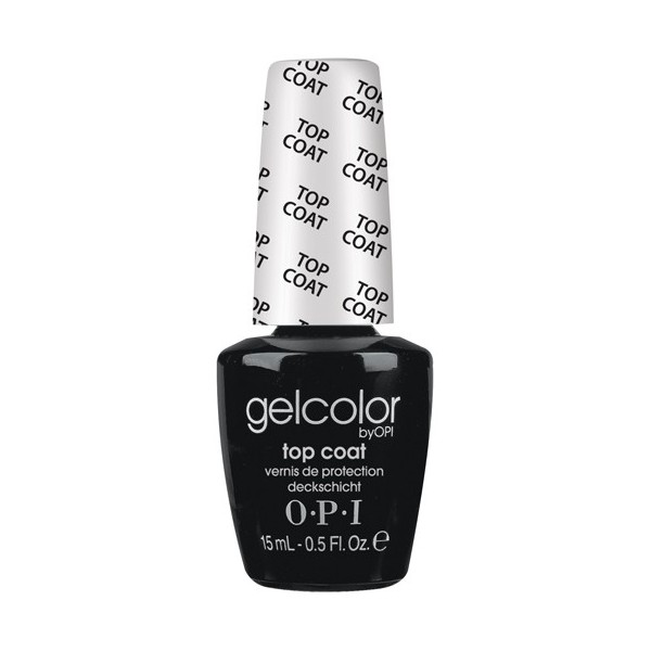 OPI Покрытие верхнее / Top Coat GELCOLOR 15мл~