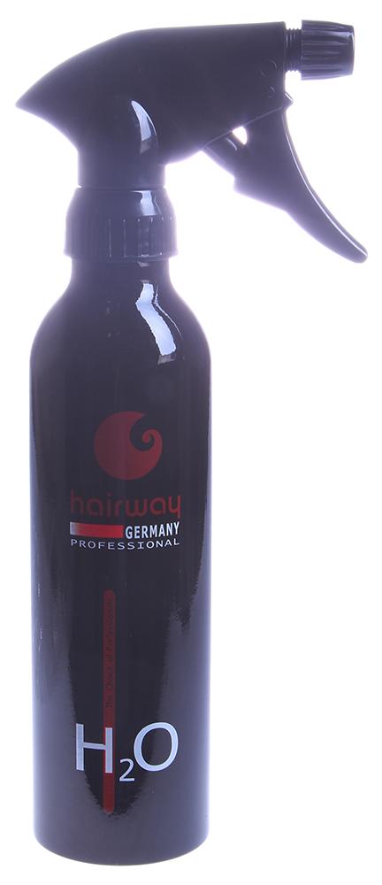 HAIRWAY Распылитель TUBUS алюминиевый для воды 250мл черный -  Распылители воды