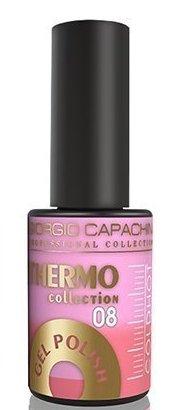 Купить GIORGIO CAPACHINI 08 гель-лак трехфазный для ногтей / Thermo 7 мл, Розовые