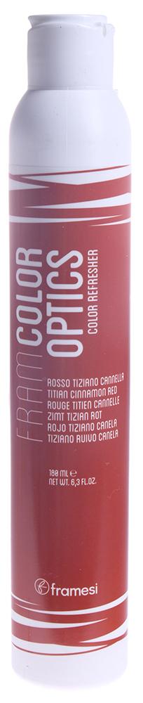 FRAMESI ��������� ������� �������� ������ / Titian Cinammon Red FRAMCOLOR OPTICS 180��