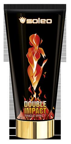 SOLEO Крем с интенсивным тингл-эффектом для загара / Double Impact Tingl 150 мл carmen d or масло д быстрого загара гавайи с экстрактом экзотических фруктов витаминный коктейль