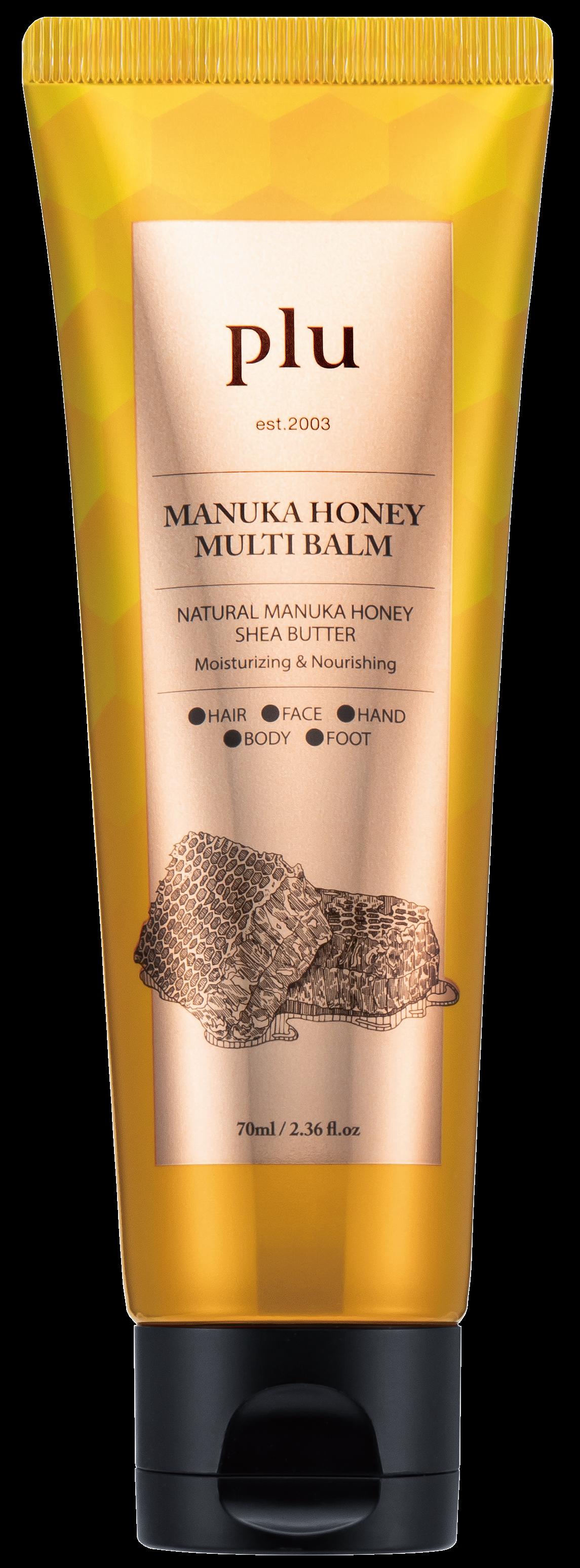 Купить PLU Мультикрем смягчающий с медом манука 70 г