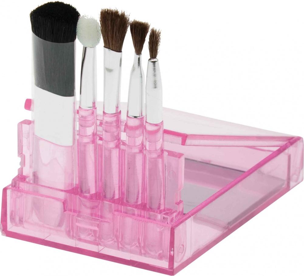 DEWAL BEAUTY Набор мини кистей для нанесения макияжа 5 шт dewal beauty набор мини кистей для нанесения макияжа 5 шт