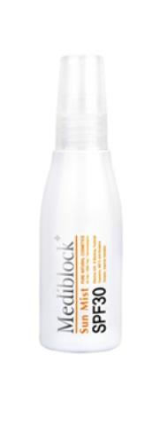 MEDIBLOСK Раствор солнцезащитный для лица и волос SPF30 / Sun Mist 60мл от Галерея Косметики