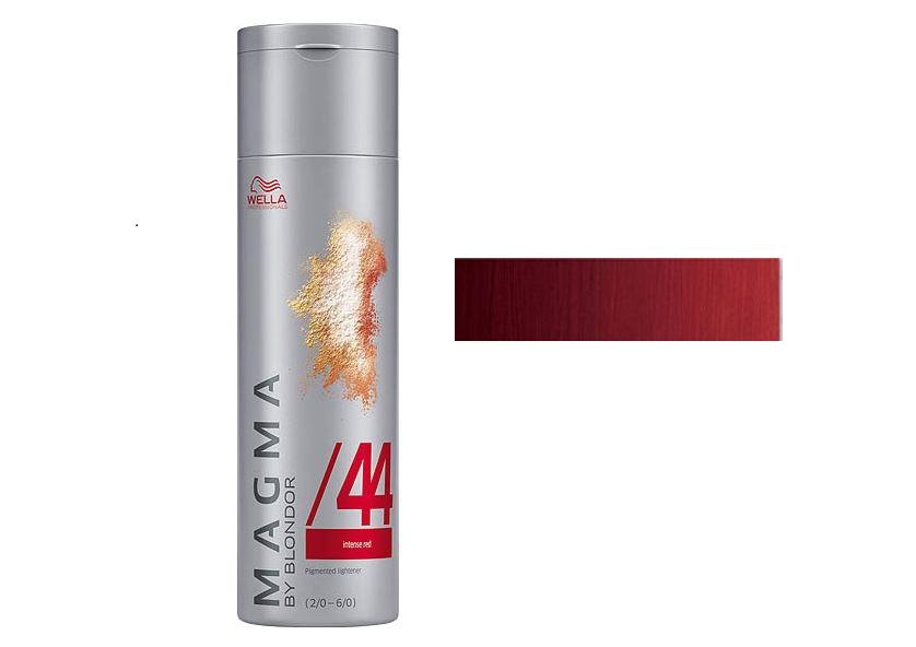 WELLA /44 красный интенсивный, краска для цветного мелирования / Magma by Blondor, 120 мл