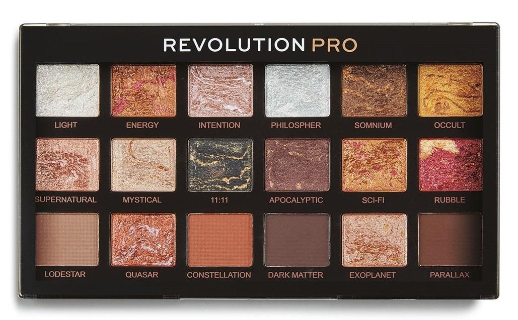 Купить REVOLUTION PRO Палетка теней для век, тон Astrological / Regeneration Palette 14, 4 г