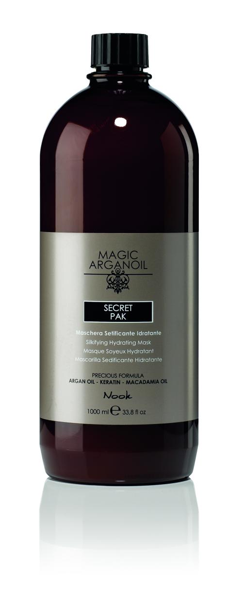 NOOK Маска секретная разглаживающая и увлажняющая Магия Арганы / MAGIC ARGANOIL 1000 мл.