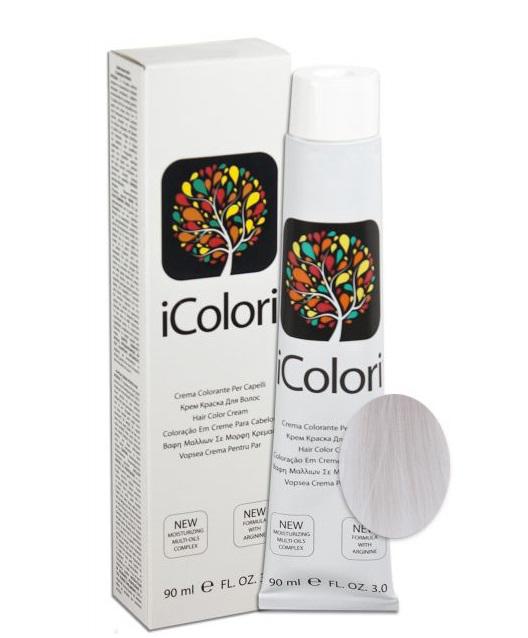 KAYPRO 10.11 краска для волос, ледяной платиновый блонд / ICOLORI 90 мл фото