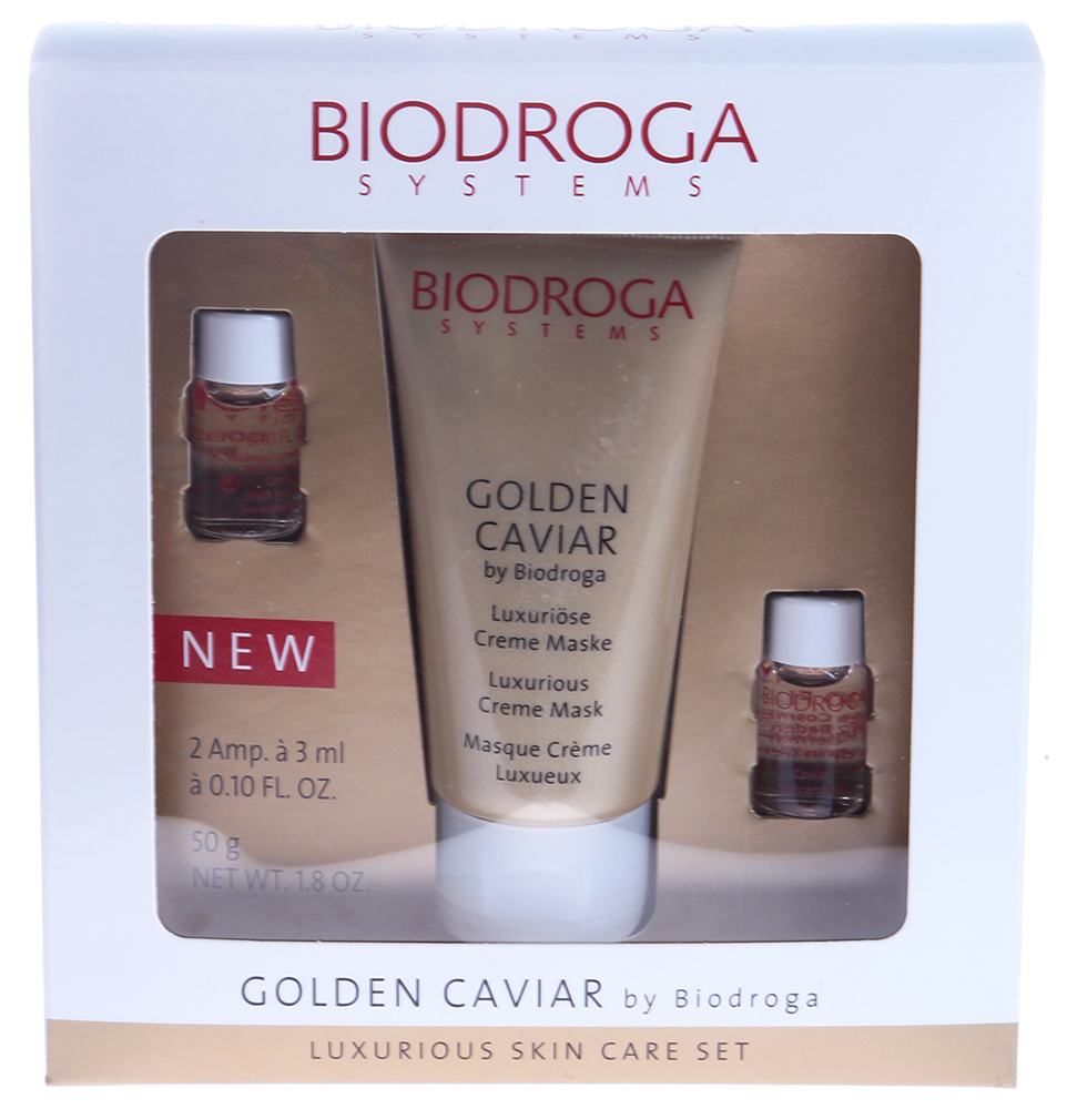 "BIODROGA SYSTEMS ����� ���������� ""������� ����"" / Luxurious Skin Care Set 2*3��+50��~"