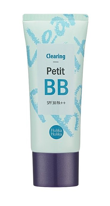 Купить HOLIKA HOLIKA ББ крем для лица Петит ББ Клиаринг SPF 30 PA++ / Petit BB Clearing 30 мл