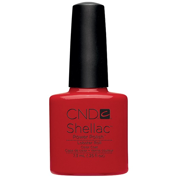 Cnd 043 покрытие гелевое / lobster roll shellac 7,3 мл