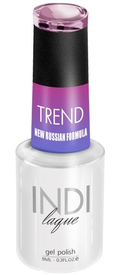 Купить RuNail 5018 гель-лак для ногтей / INDI laque Trend 9 мл, Фиолетовые