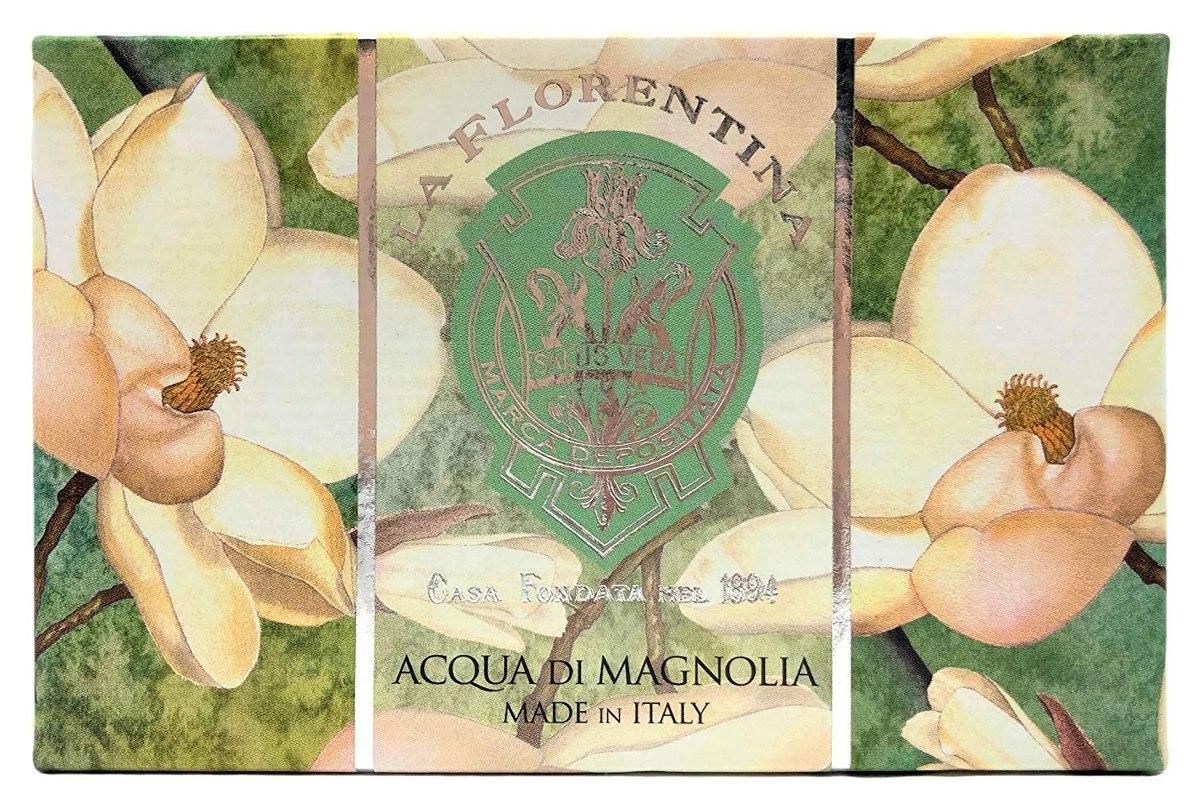 Купить LA FLORENTINA Мыло натуральное, свежая магнолия / Fresh Magnolia 300 г