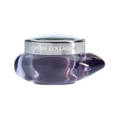 THALGO Крем коллагеновый / Collagen Cream 150млКремы<br>Крем, обогащенный коллагеном натурального морского происхождения, борется с первыми признаками старения кожи, увлажняет и способствует ее регенерации. Первые морщинки значительно уменьшаются. Активные ингредиенты: Натуральный Морской Коллаген восстанавливает оптимальный уровень увлажнения Экстракт Сои активизирует синтез коллагена Способ применение: Наносить на все лицо и шею утром и вечером, самостоятельно или после концентрата<br><br>Вид средства для лица: Морской<br>Возраст применения: После 25