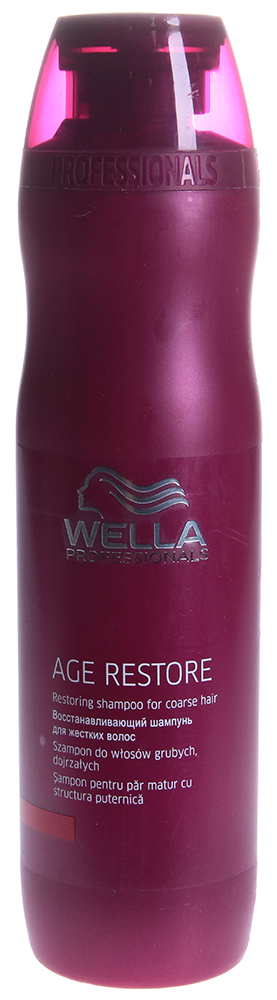 WELLA Шампунь восстанавливающий для жестких волос / AGE 250мл