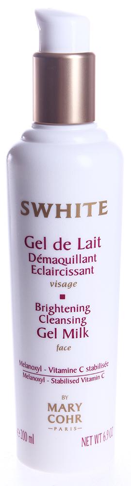 MARY COHR Молочко очищающее гелевое выравнивающее цвет лица / Swhite Gel de Lait Demaquillant 200мл