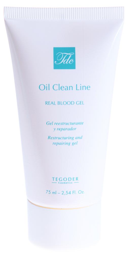 TEGOR Гель улучшающий микроциркуляцию для нормальной и жирной кожи / OIL CLEAN 75мл недорого