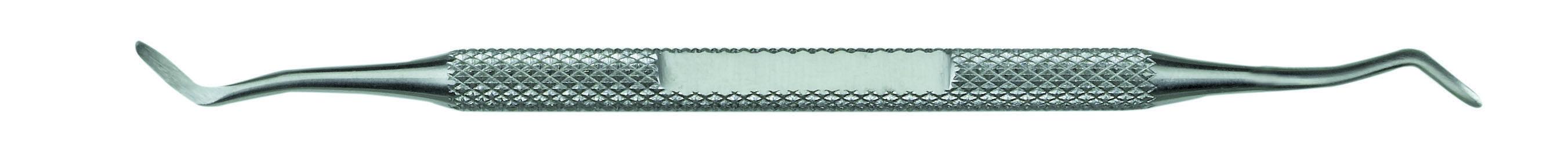 KIEPE Пушер для кутикулы двухсторонний загнутый, нержавеющая сталь, 13 см