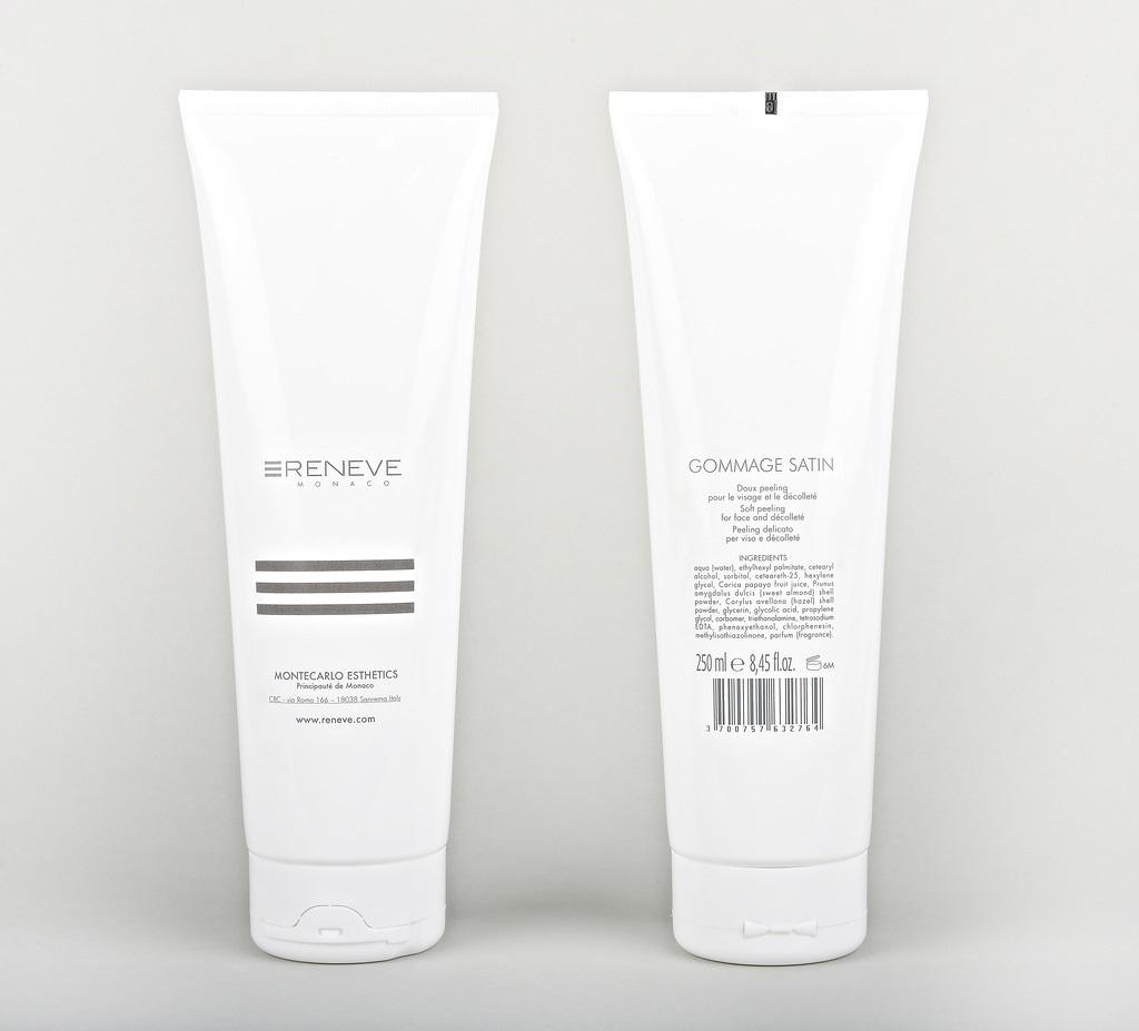 RENEVE Скраб деликатный для лица и декольте / GOMMAGE SATIN 250мл от Галерея Косметики