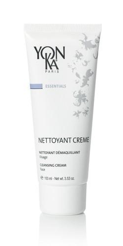 YON KA Крем очищающий Nettoyant Creme / ESSENTIALS 100млКремы<br>Этот очищающий крем имеет выраженное успокаивающее действие, поэтому особенно рекомендуется для чувствительной кожи любого типа. Эффективно удаляет макияж. Моментально смягчает кожу. Снимает раздражение, придает ощущение свежести. Активные ингредиенты: экстракт мяты перечной, очищающие вещества растительного происхождения. Способ применения: использовать утром и вечером. С помощью круговых движений нанести небольшое количество препарата на влажную кожу. Используя спонжи, смыть теплой водой, затем высушить поверхность кожи и распылить лосьон Yon-Ka<br><br>Вид средства для лица: Очищающий