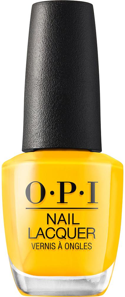 Купить OPI Лак для ногтей / Sun, Sea, and Sand in My Pants LISBON 15 мл, Желтые