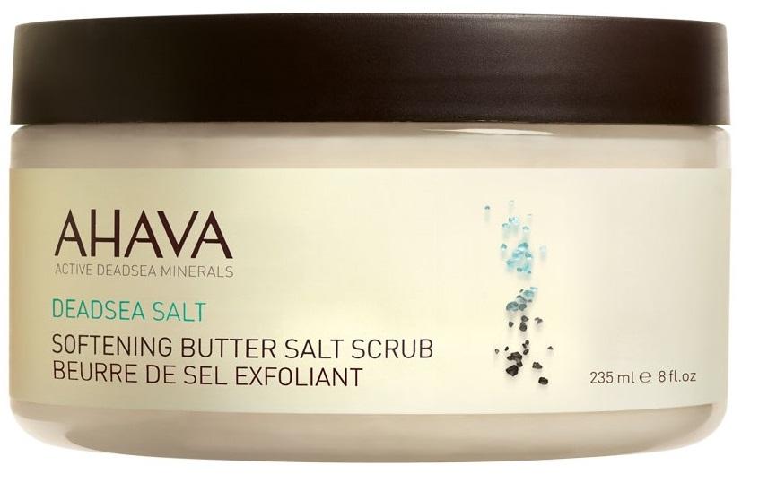 AHAVA Скраб масляно-солевой смягчающий / Deadsea Salt 235 мл -  Скрабы