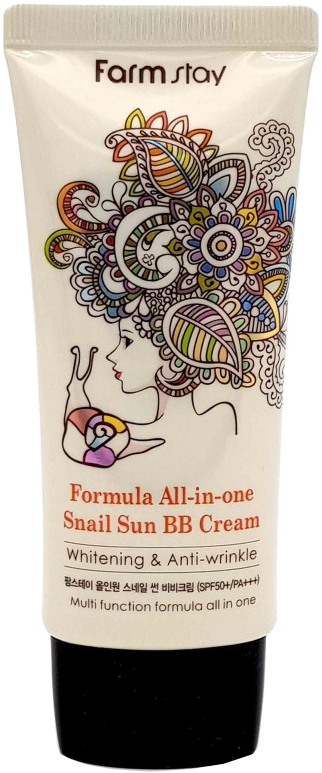Купить FARMSTAY BB-крем многофункциональный с муцином улитки SPF 50+/PA+++ / ALL-IN-ONE 50 г