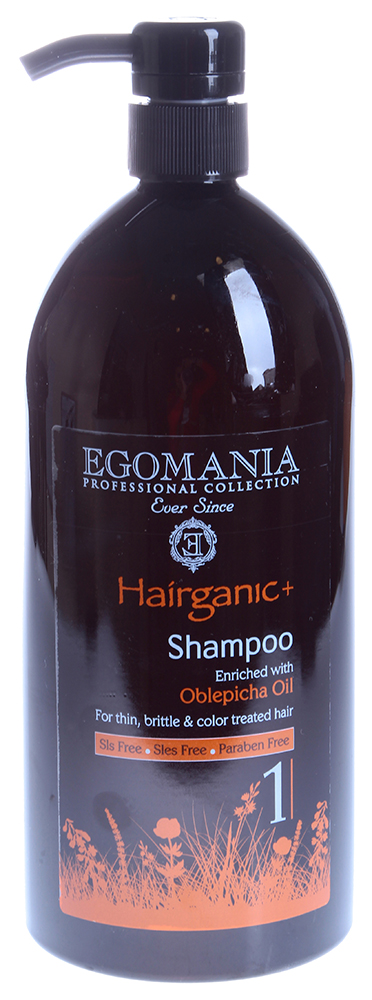 EGOMANIA ������� � ������ �������� ��� ������, ������ � ���������� ����� / HAIRGANIC 1000��