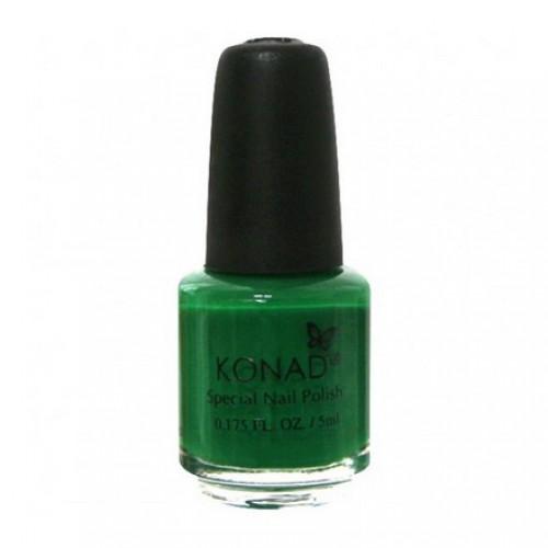 KONAD Лак на акриловой основе для стемпинга, зеленый S09 5 мл повседневный лак konad regular nail polish konad psyche green