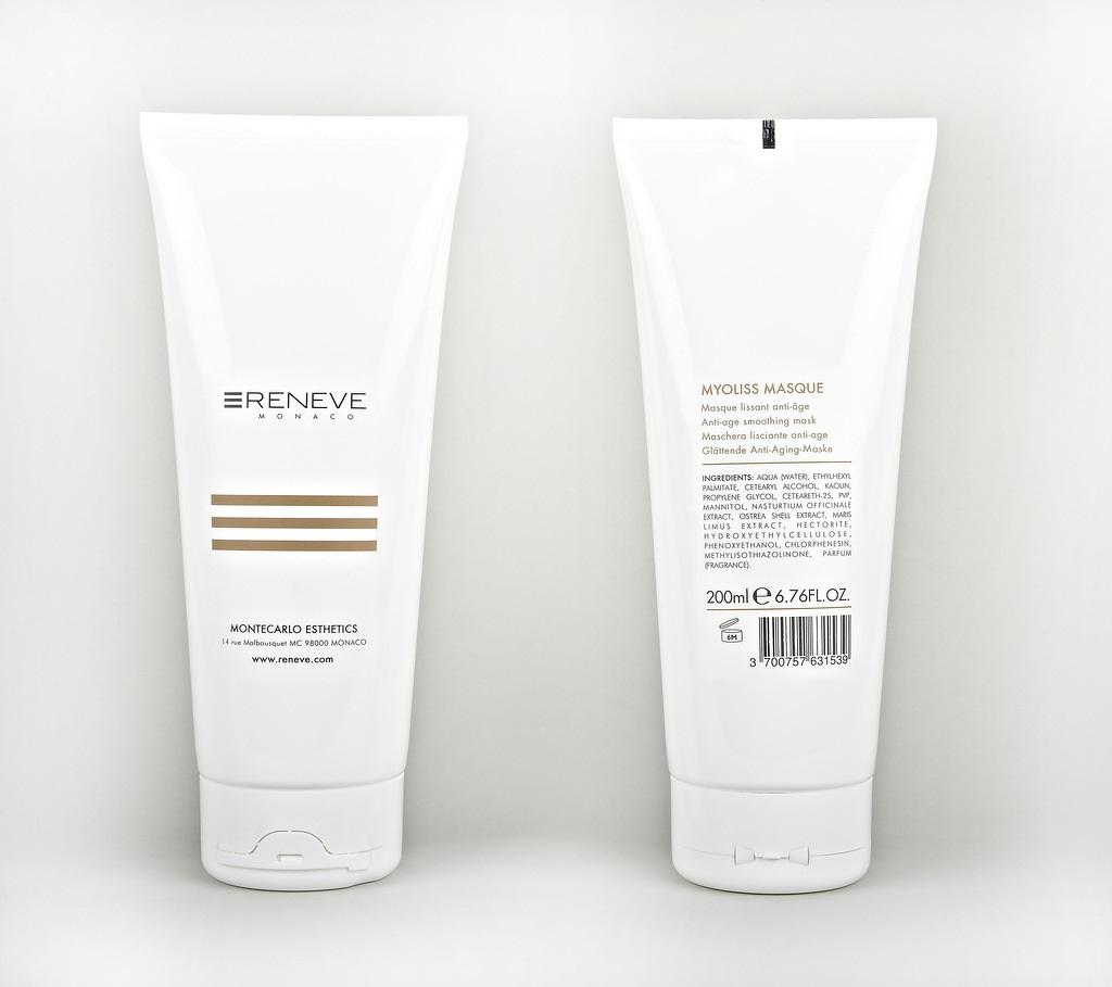 RENEVE Маска антивозрастная разглаживающая кожу лица / MYOLISS MASQUE 200мл