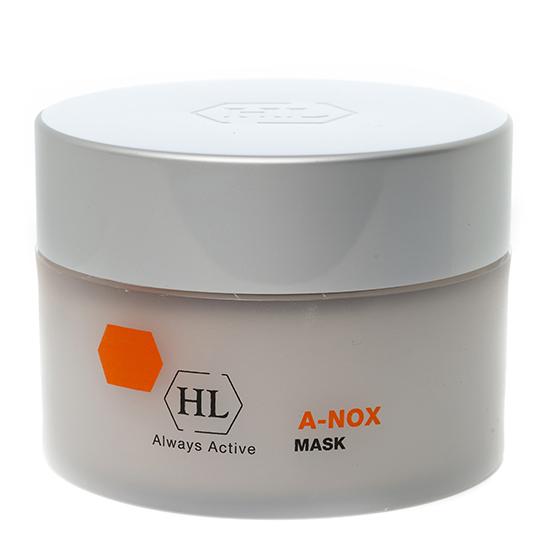 HOLY LAND Маска / Mask A-NOX 250млМаски<br>Маска обладает противоотечным, дезинфицирующим, противовоспалительным и подсушивающим действием. Незаменима в качестве интенсивного ухода для жирной проблемной кожи и после чистки в качестве успокаивающего средства. Заживляет кожу, снимает раздражение, выравнивает текстуру и оттенок кожи. Результат: кожа чистая, матовая, количество воспалительных элементов сокращено, поры очищены. Активные ингредиенты:&amp;nbsp;изопропиловый спирт, каолин, оксид цинка, салициловая кислота, аллантоин. Способ применения: размешайте маску перед применением. Нанесите на кожу лица, избегая области век, выдержите 20 минут, затем смойте большим количеством воды. Применять 3 раза в неделю.<br><br>Объем: 250<br>Класс косметики: Лечебная