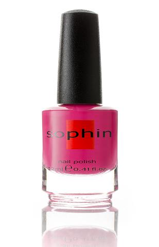SOPHIN Лак для ногтей, фуксия 12мл